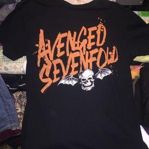 Avenged sevenfold t shirt
